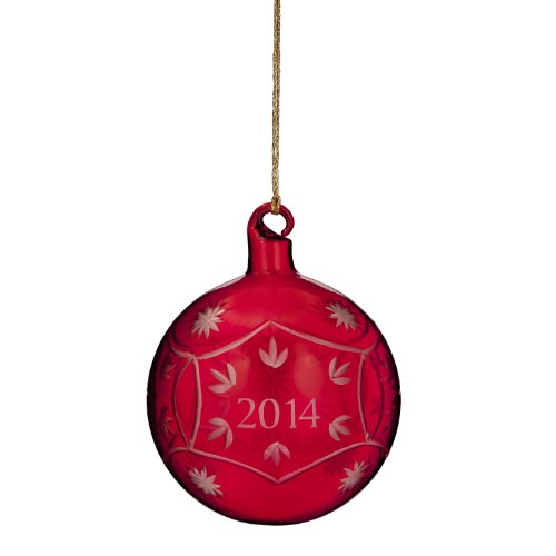 Marquis By Waterford Annual 2014 Ornament, Red Ball