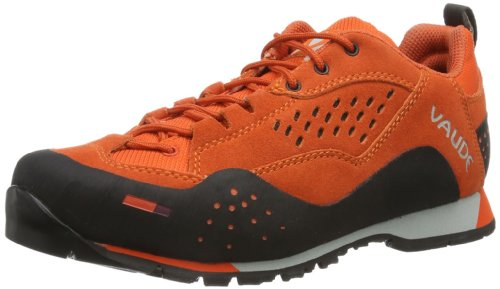 Vaude Women's Dibona 202803270450 - Zapatillas de deporte de ante para mujer Naranja (Orange (glowing red))
