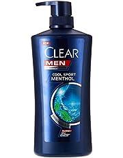 Clear Men Cool Sport Menthol Anti-Dandruff Shampoo, 650ml