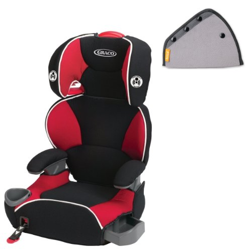 Graco AFFIX Youth Booster Seat with Seat Belt Adjuster, Atomic