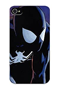 For Disportpal Iphone Protective Case, High Quality For Iphone 4/4s Image Of Pider Man Black Uit Ic Vine Skin Case Cover