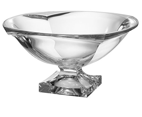 Majestic Gifts Inc. Crystalline Collection Classic Footed Bowl (Crystal Fruit Bowl)