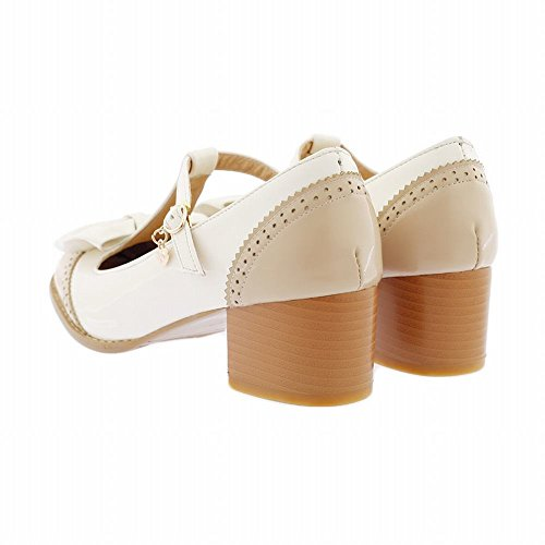A Style Carol Fashion Shoes Women's Met New Tacco qgxPYTg