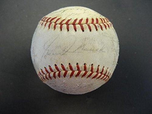 25-1965-Phil-Phillies-Team-Signed-Baseball-Autograph-Auto-AA05101-PSADNA-Certified-Autographed-Baseballs