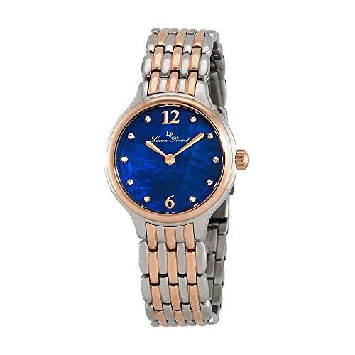 Lucien Piccard Lauren Blue Dial Ladies Watch LP-28021-SR-33MOP