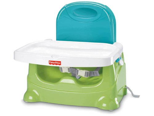 Price comparison product image Fisher-Price Healthy Care Booster Seat, Green/Blue