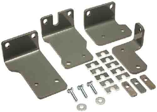 B&W Trailer Hitches RVR3205 5th Wheel Custom Rail Kit for RAM 1500