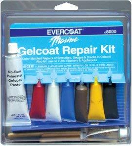 Gelcoat Repair Kit (Evercoat) (Gel Paste Polyester)