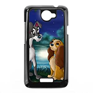 HTC One X Cell Phone Case Covers Black Lady and the Tramp II Scamp's Adventure Character Annette G0W8Q