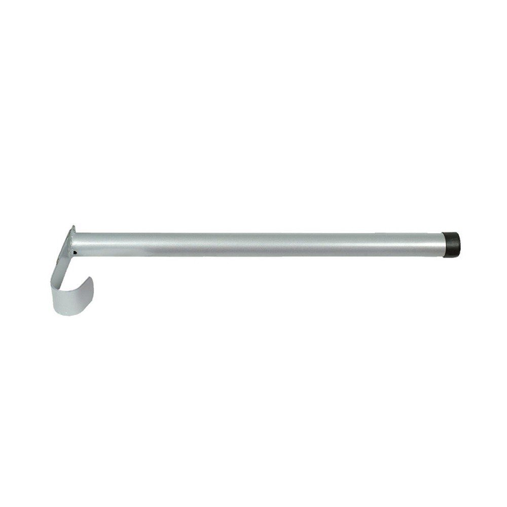 NETPROSHOP Saddle Rack, Folding Pole, Choice:Silver