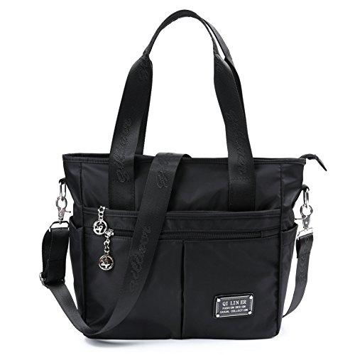 Zipper Pocket Handbag - 4