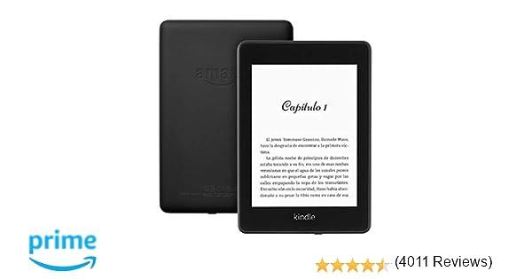 Kindle Paperwhite | E-reader resistente al agua con 8 GB de ...