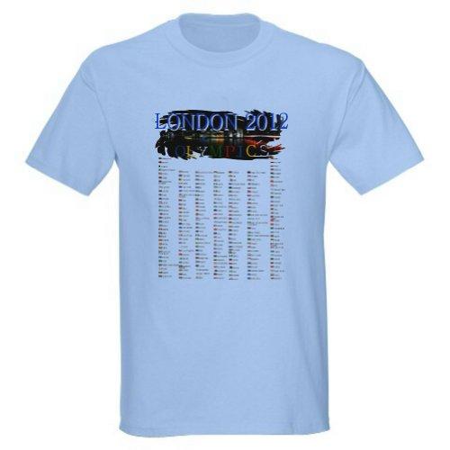 London Olympics T-Shirt (Adult XLarge, Light - 2012 T-shirt London