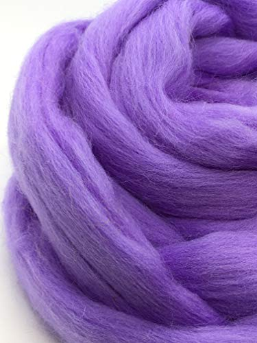 Periwinkle Merino Wool Top Roving Fiber Spinning, Felting Crafts USA (4 pounds) by Shep's Wool (Image #5)