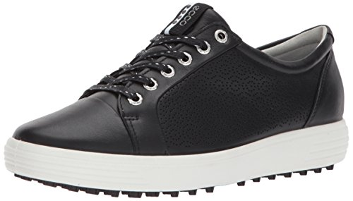 ECCO Women's Casual Hybrid 2 Golf Shoe, Black, 41 EU/10-10.5 M US
