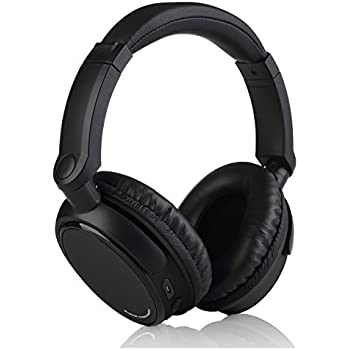 Francois et Mimi Elite HARDI Bluetooth Enabled Wireless Over-Ear Headphones with Built-in Microphone, 12 Hour Battery