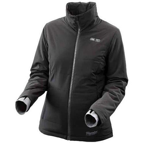 Women's Small Black Lithium Ion Cordless Heated Jacket Kit