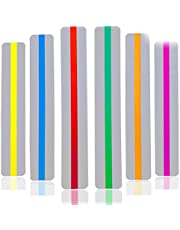 Dyslexia Tools for Kids, Guide Reading Strips Highlight Strips Colored Overlay Highlight Bookmarks Help with Dyslexia for Kids Teachers Special Education Supplies 12 Pack