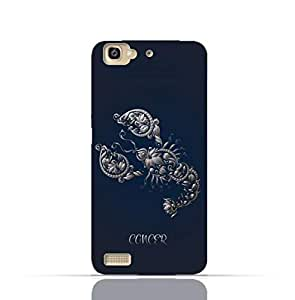 Huawei GR3 TPU Silicone Case with Zodiac-Sign-Cancer Design