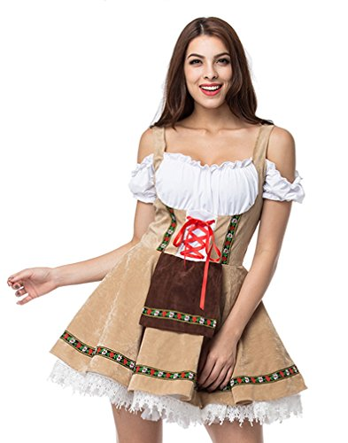 Lusiya Women's Adult German Beer Girl Dress for