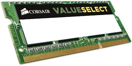 Corsair 4GB (1x4GB) 1333MHz PC-10600 204-Pin DDR3 SODIMM Laptop Memory (CMSO4GX3M1C1333C9)