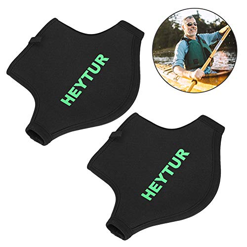 Zyyini Paddle Mitts,1 Pair Thicken Waterproof Kayak Paddle Grips Anti-Skid Gloves for Men Women Adult Paddling Kayak Canoe Boat