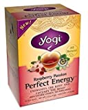 Yogi Tea Perfct Enrgy Raspbrry 16 Bag