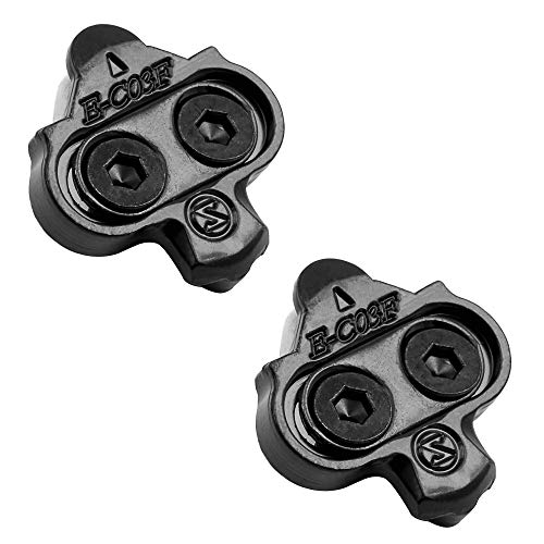 Bike Cleats Compatible with Shimano SPD SM-SH56 - Indoor Cycling, Spinning & Mountain Bike Bicycle (Multi Release)