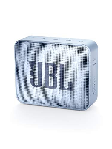 JBL GO2 Waterproof Ultra Portable Bluetooth Speaker – Cyan
