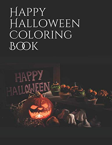 (Happy Halloween Coloring Book)