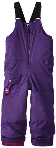 Burton Boys Minishred Maven Bib Pants, Petunia, 2T