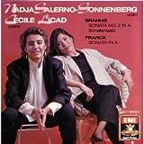 Franck & Brahms Sonatas - Sonata A, No. 2 Sonatensatz in C Minor by Nadja Salerno-Sonnenberg