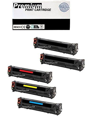 JSL 5 PK Toner For HP 125A CB540A CB541A CB542A CB543A Color Laserjet CM1312 CP1215