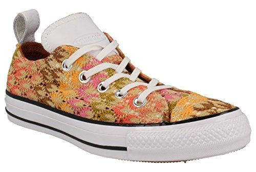 Converse Chuck Taylor Missoni Ox Casual Women#039s Shoes Size 8 Orange
