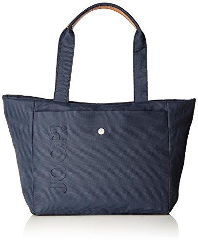 JOOP Nylon Naviga Helena Shopper Lhz - Bolso de hombro Mujer Azul (Dark Blue 402)