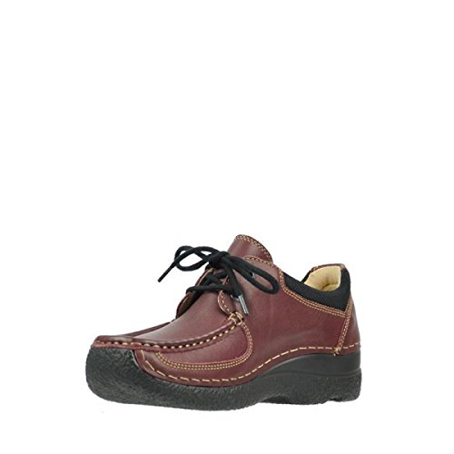 Roll Burgundy Wolky 30510 Comfort Lace up Leather Shoe Shoes wxBBzCUgqv