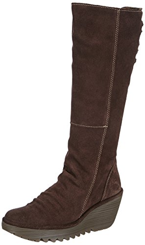 Fly London Yust, Boots femme Marron (Expresso 019)