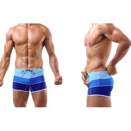Baleaf Men's Fashion Gradient Color Swimwear