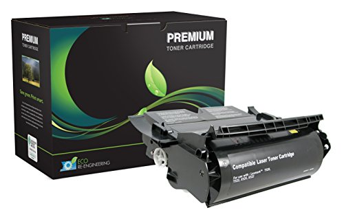 MSE Model MSE02242516 High Yield Toner Cartridge; Compatible with Lexmark T520, T520D, T520DN, T520N,T520N SBE, T522, T522DN, T522N, X520, X522 and X522S Printers; Up to 20000 Pages; Black