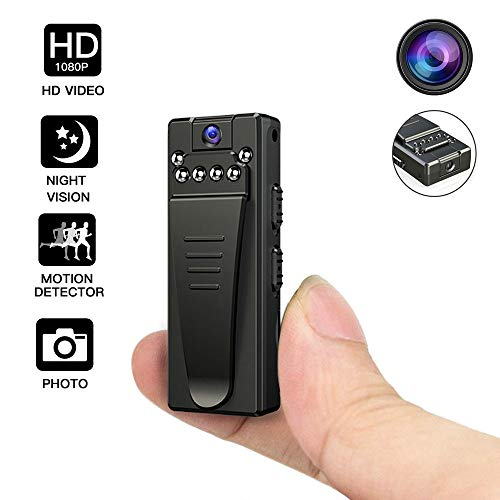 Mini Camera DV Sports Camcorder Camera Video Audio Recorder spy Nanny Cam Night Vision Portable Sports Camera Interview DV Video Recorder Home Surveillance