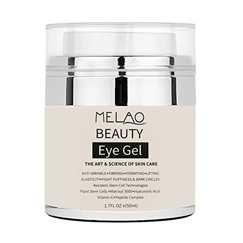 Eye Gel Moisturizer for Dark Circles, Puffiness, Wrinkles and Bags - The Most Effective Anti-Aging Eye Gel for Under and Around Eyes. - 1.7 fl oz