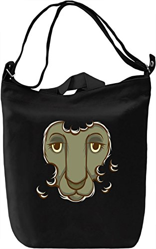 Sheep Borsa Giornaliera Canvas Canvas Day Bag  100% Premium Cotton Canvas  DTG Printing 