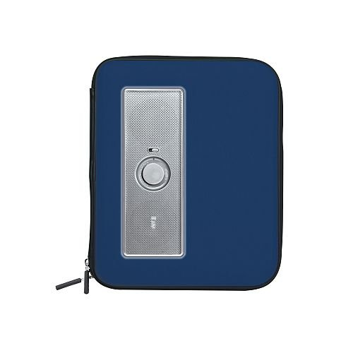 - iLuv iSP210BLU Portable Amplified Stereo Speaker Case for iPad, iPad 2, MP3 Player and Tablets - Blue