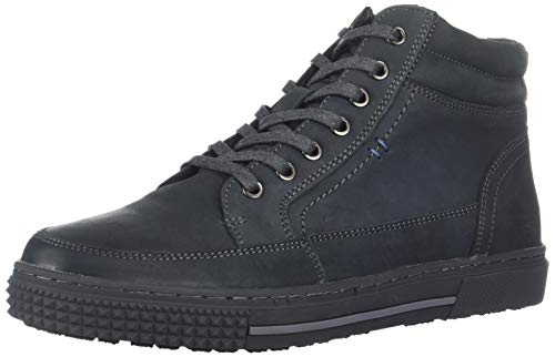 Kenneth Cole REACTION Men's Highrise MID TOP Sneaker, Grey, 11 M US