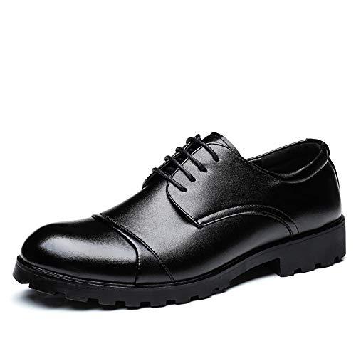 Business 43 Mode Bas Hilotu haut color Taille Casual Style Oxford Wedding Prom Gentleman Lacets À Chaussures Noir Shoes Noir Pour Hommes Eu rw7CwqHA