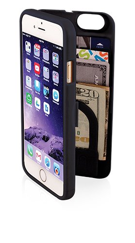 EYN Products eynblack6 Carrying Case for iPhone 6 – Standard Packaging – Black