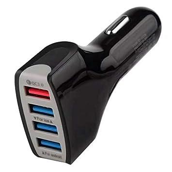 Libertroy QC3.0 Multifuncional 4 Puertos USB Cargador rápido ...