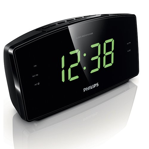 Amazon com Philips AJ3400 37 Clock Radio Home Audio amp Theater. Bedroom Alarm Clock Radio