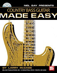 Country Bass Guitar Made Easy Book/CD Set