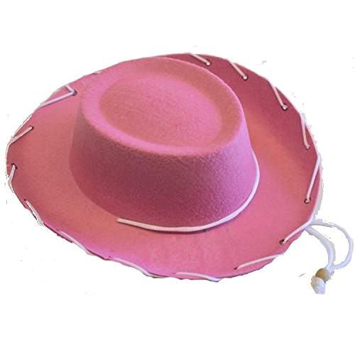 4E's Novelty Children's Pink Felt Cowboy Hat
